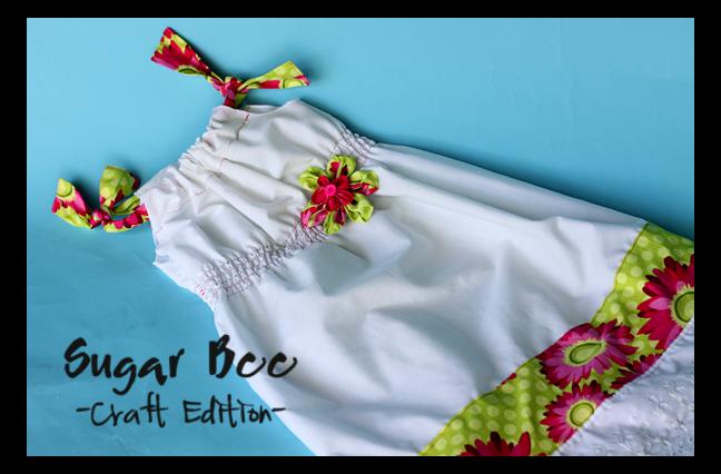 shirred pillowcase dress tutorial