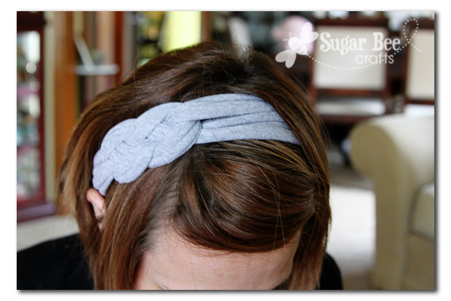 T Shirt Headbands How To Make A Knotted Headband With