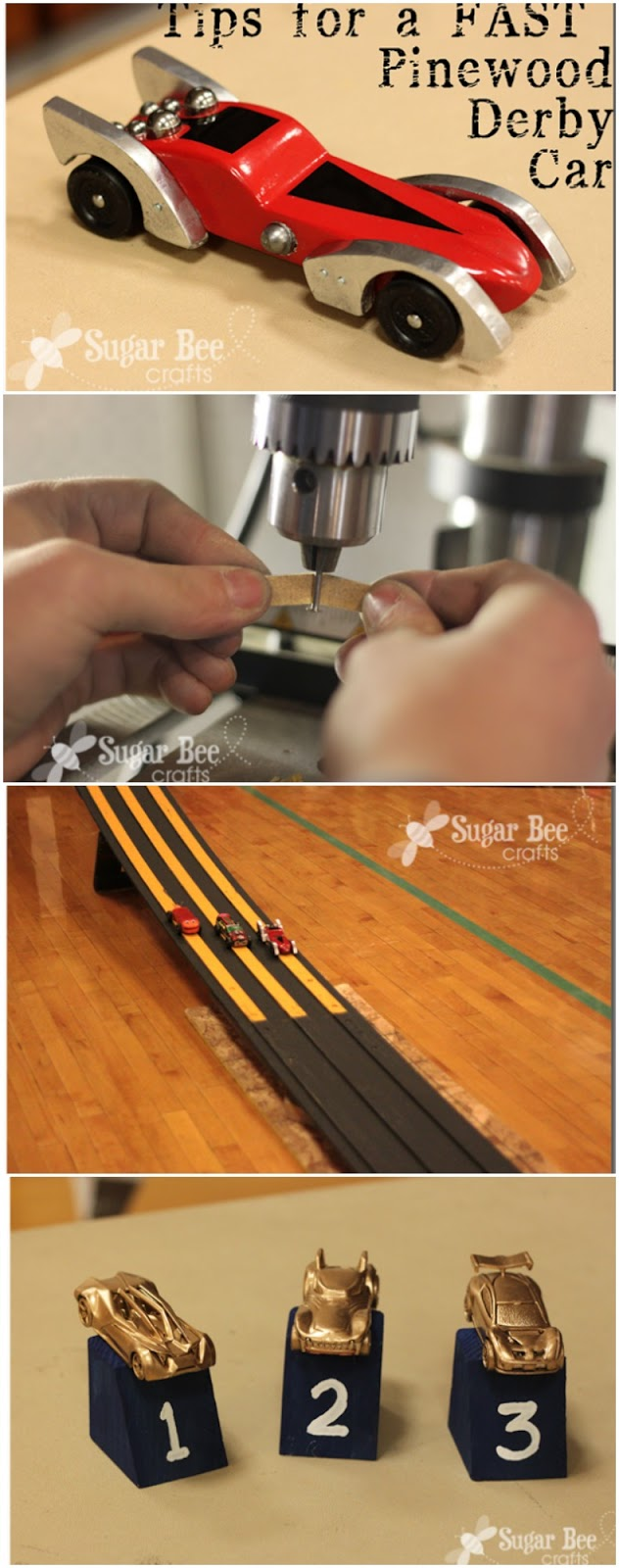 pinewood derby tips tricks how to make your car faster wheels
