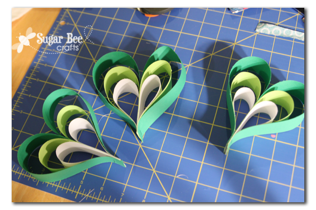 Paper Strip Crafts How To Make Shamrock Ornaments From Paper Strips