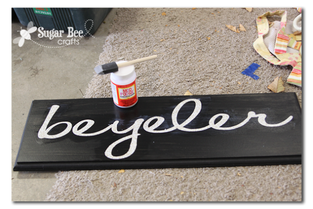vinyl lettering for crafts family name sign sugar bee crafts 5686