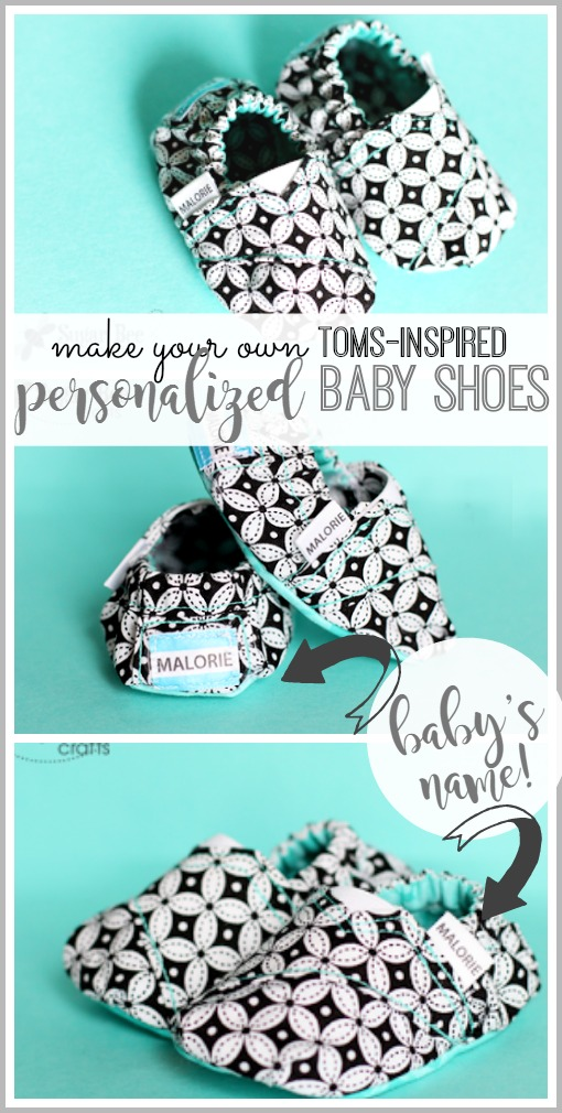 personalized toms baby shoes diy to sew yourself