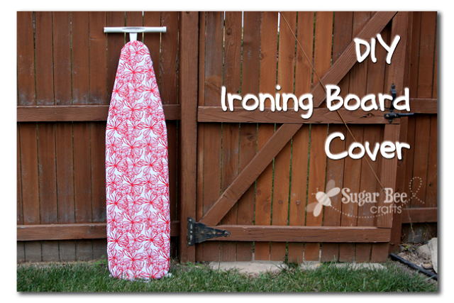 ironing board cover diy ironing board cover sugar bee crafts 12730