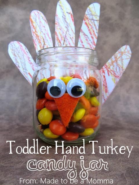 Baby Food Jar Thanksgiving Crafts