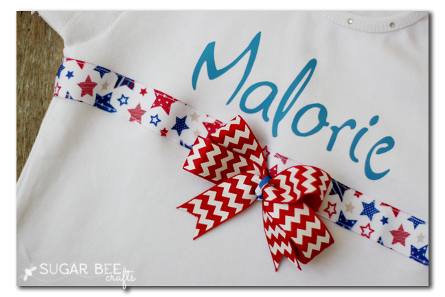 personalized ribbon shirt