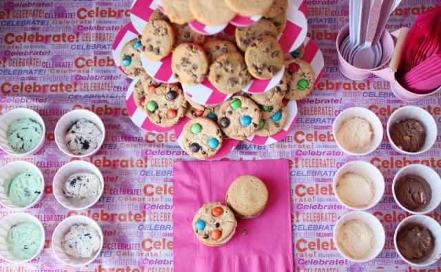Cookie sandwich bar ideas