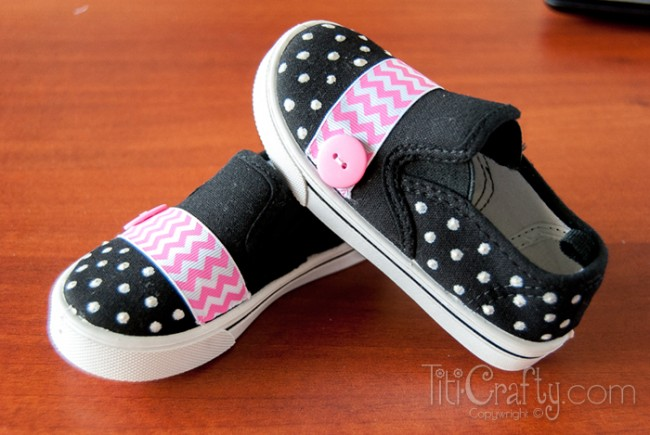DIY-Cute-Chevron-Polka-dots-Embellished-Shoes-Tutorial-650x435