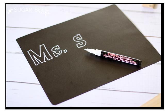 bistro maker chalk paper