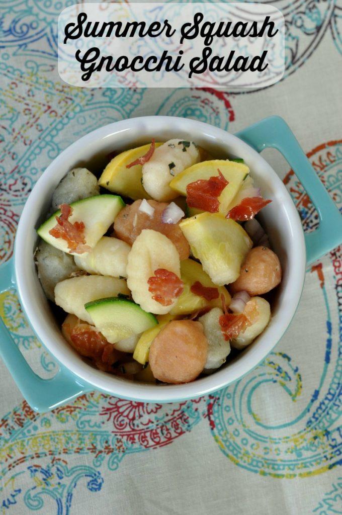 Summer Squash Gnocchi Salad