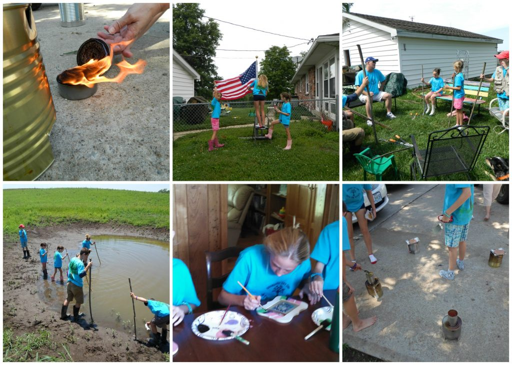 grandmas' day camp day 2