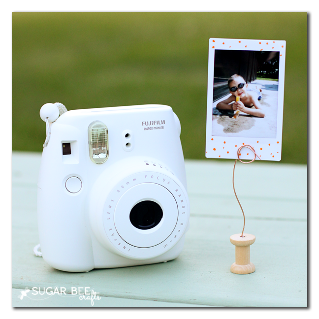 instax mini photo display