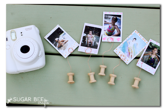 instax mini spool photo holder