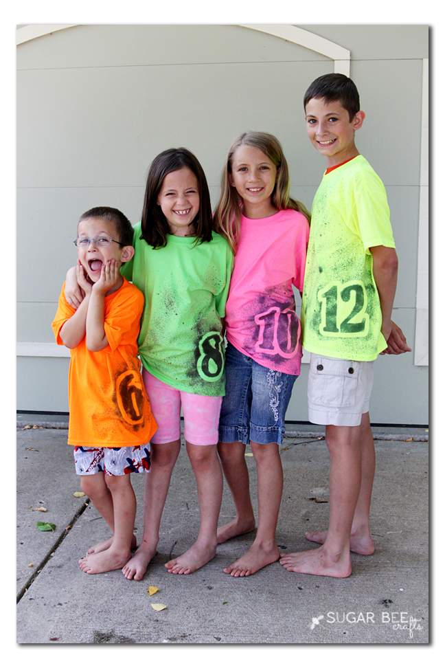 make your own number tshirt