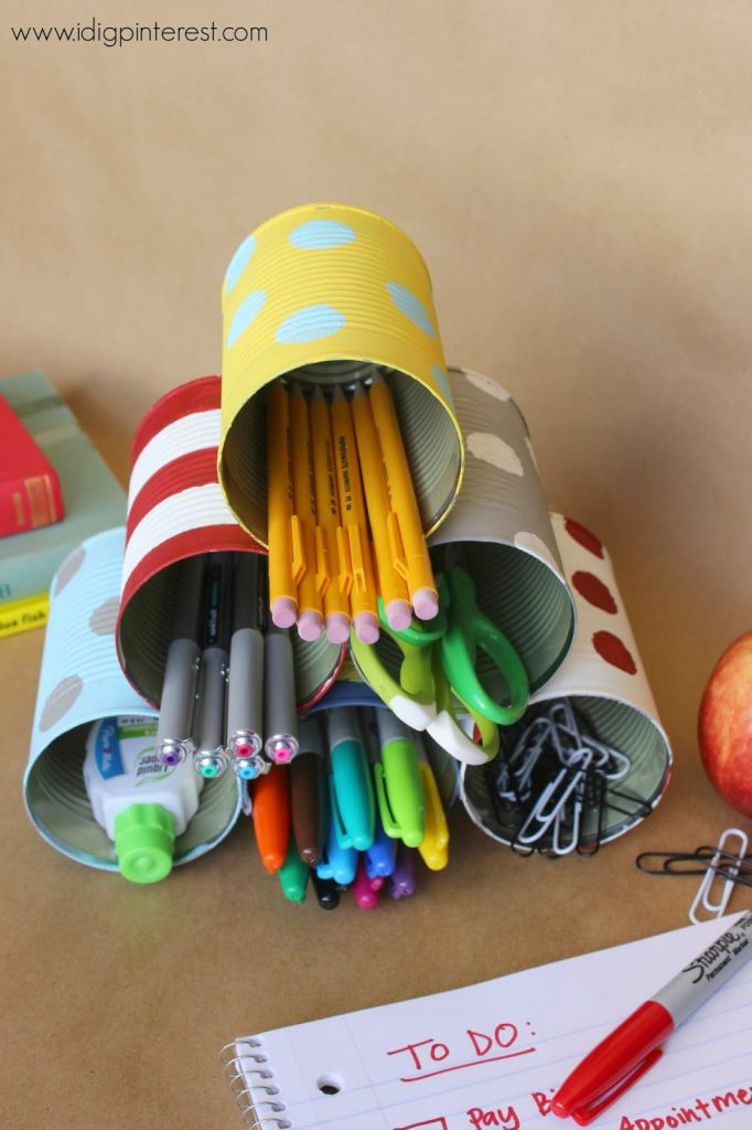 DIY Desk Supply Organizer4