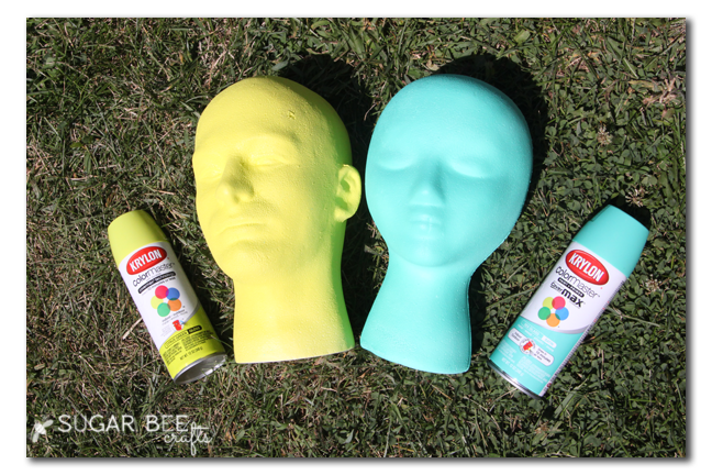 foam head spraypaint