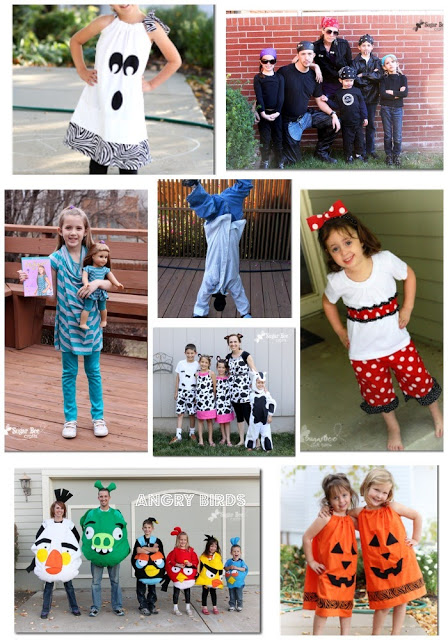 Costumes from Sugar Bee Crafts
