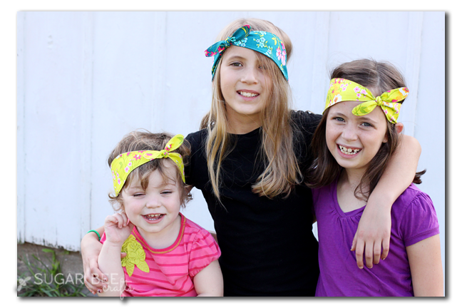 fabric knotted headbands