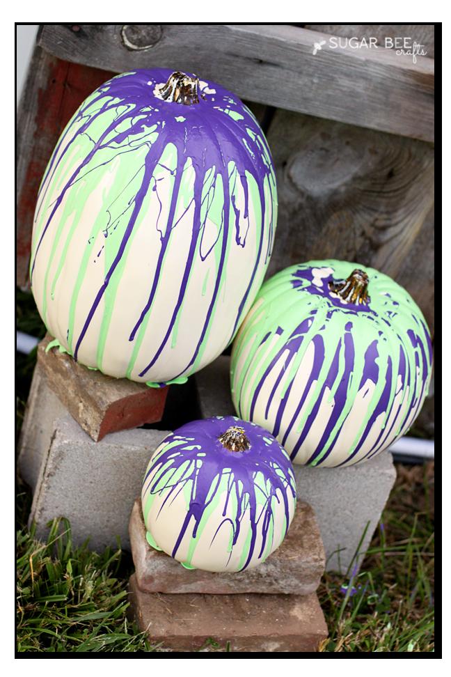 halloween decor drip pumpkins