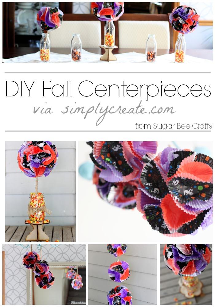 DIY Fall Centerpieces