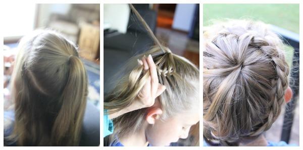 circle crown braid