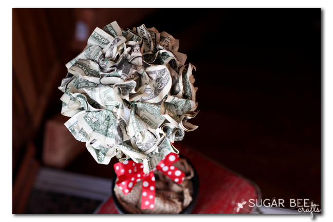 diy money ball craft