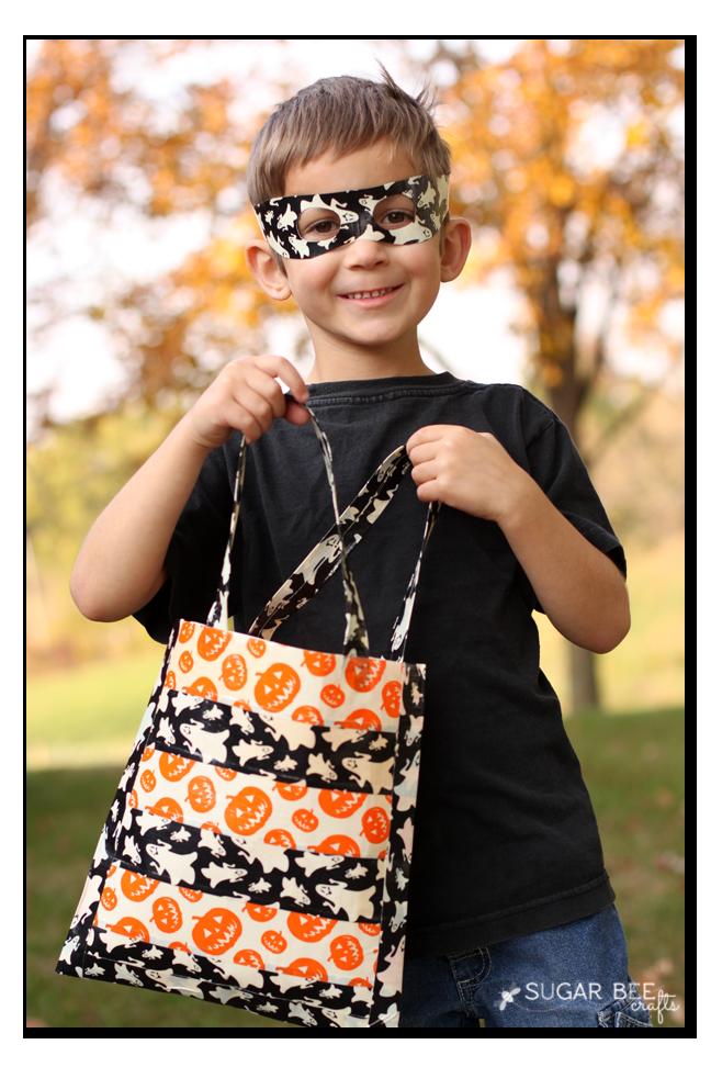 easy diy halloween bag