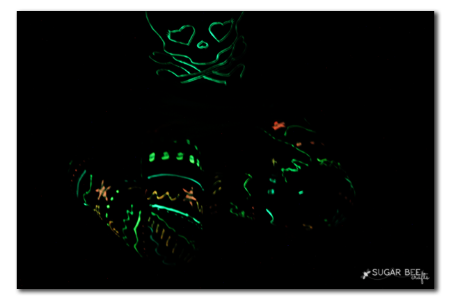 glow in the dark halloween outfit