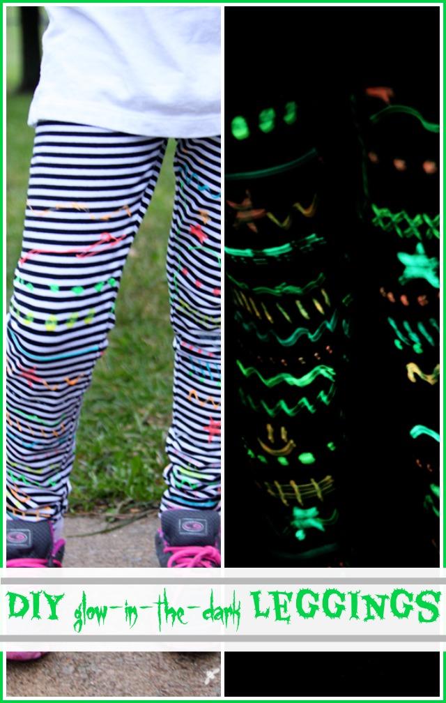 glow leggings