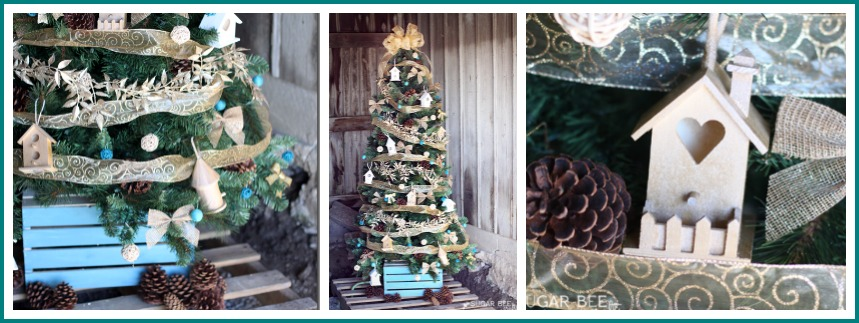 Home Tweet Home Christmas Tree Theme by Mandy Beyeler