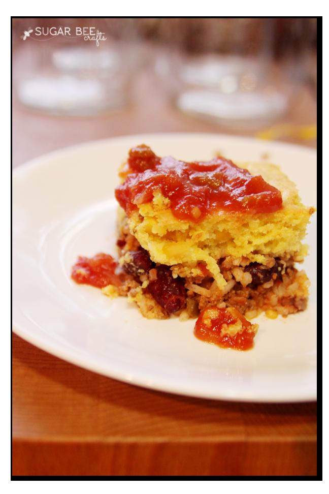 mexcian pie easy dinner idea