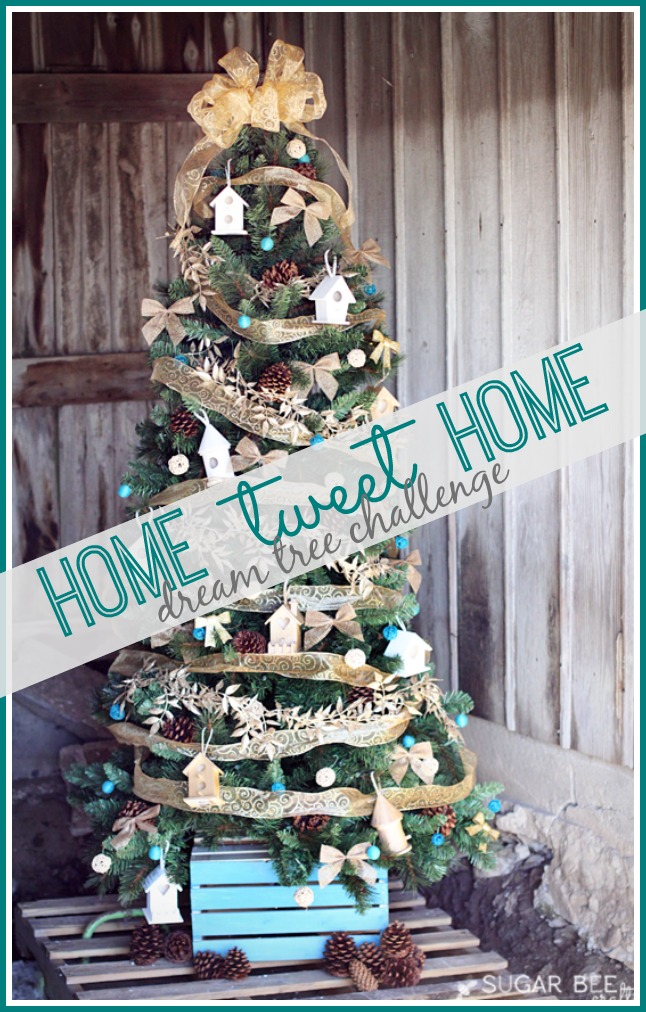 michaels dream tree challenge - Bird House Christmas Decoration