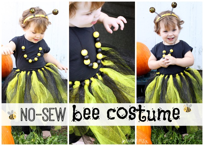 no sew bee costume tutorial how to