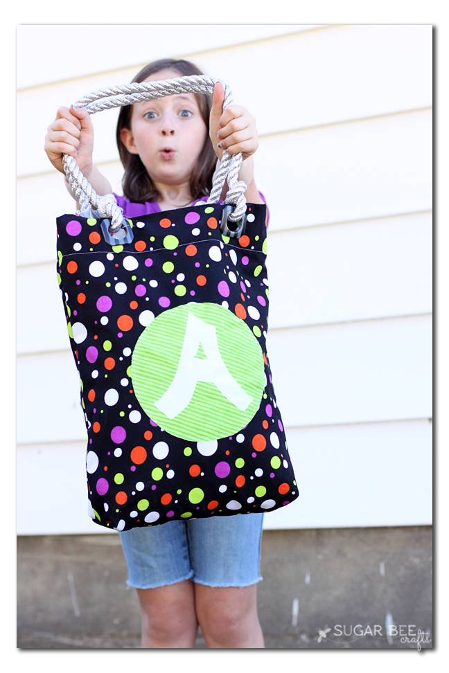 trick or treat bag quick and easy