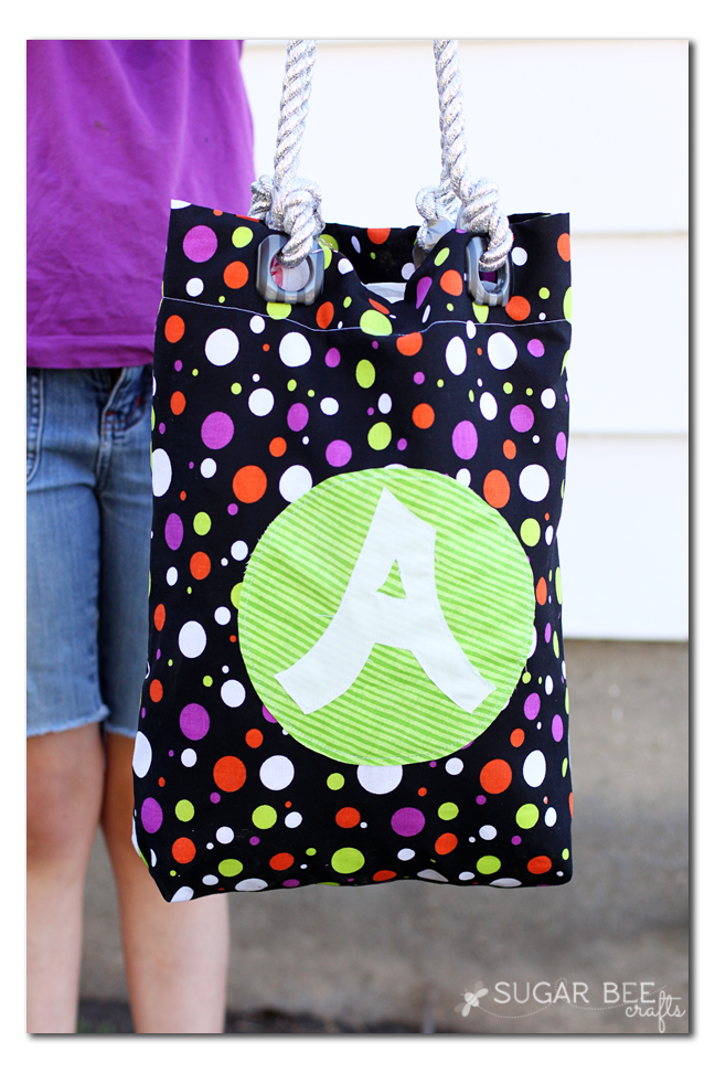 trick or treat grommet bag