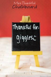 Mini Thankful Chalkboards