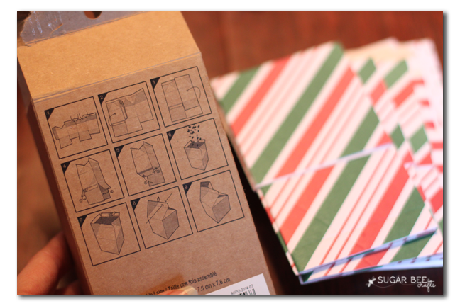 holiday milk carton wrapping