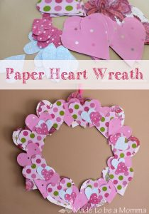 Paper-Heart-Wreath-Made-to-be-a-Momma