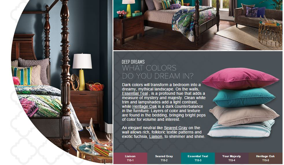 behr colors 2015 deep dreams