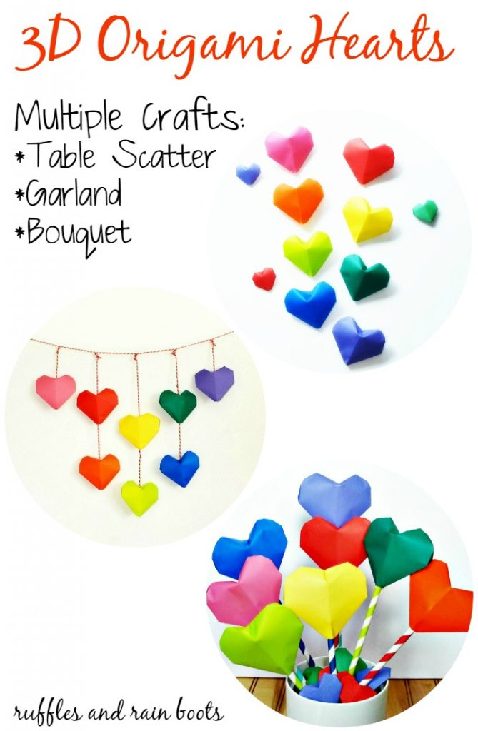 Origami-Heart-Bouquet-Garland-and-Table-Scatter