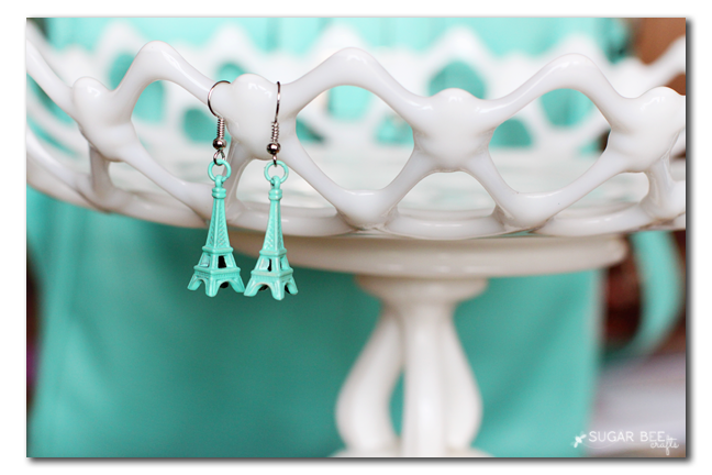 how to make eiffel tower earrings