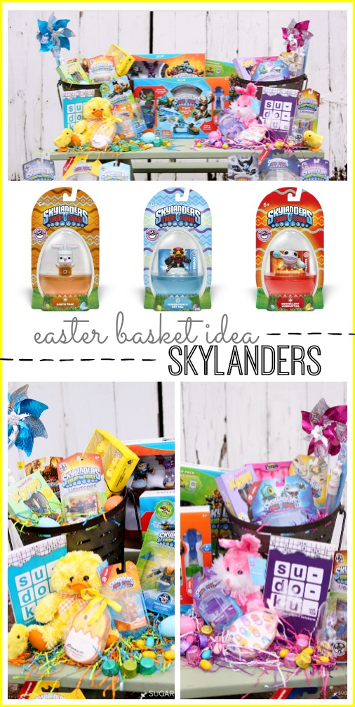 Skylanders Easter basket idea boy or girl