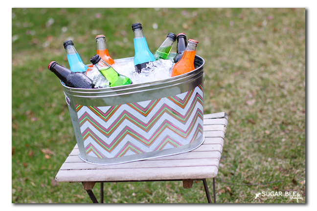 diy drink caddy container