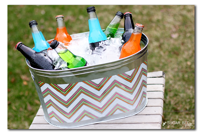 make your own drink container for summer parties