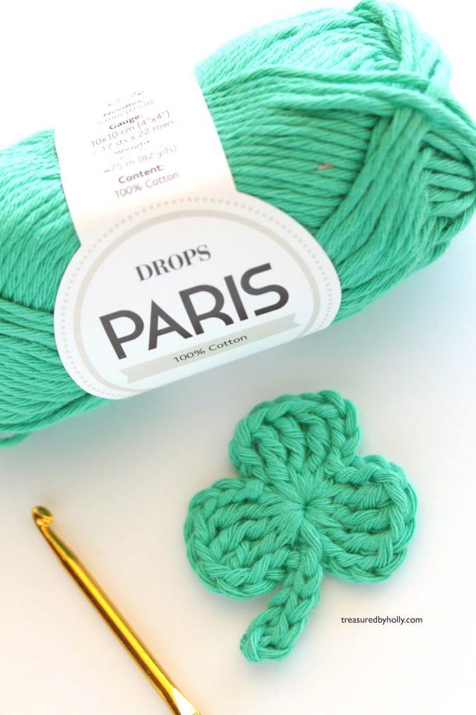 shamrock crochet