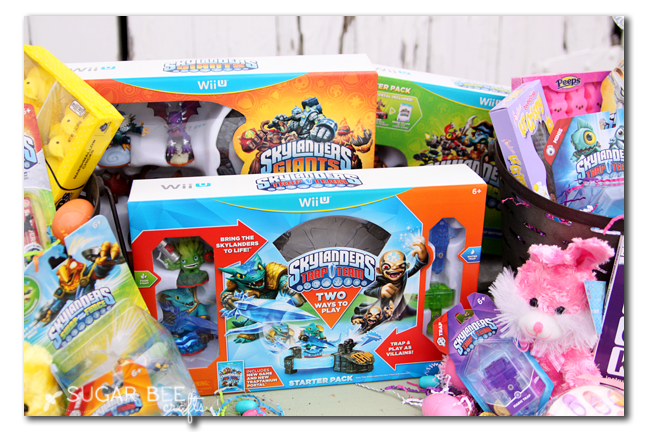 shared gift basket idea skylanders