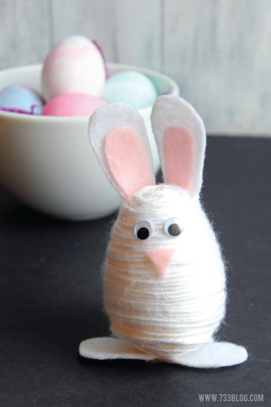 yarn-wrapped-easter-bunny