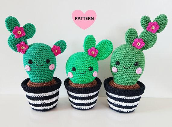 crochet cactus cute