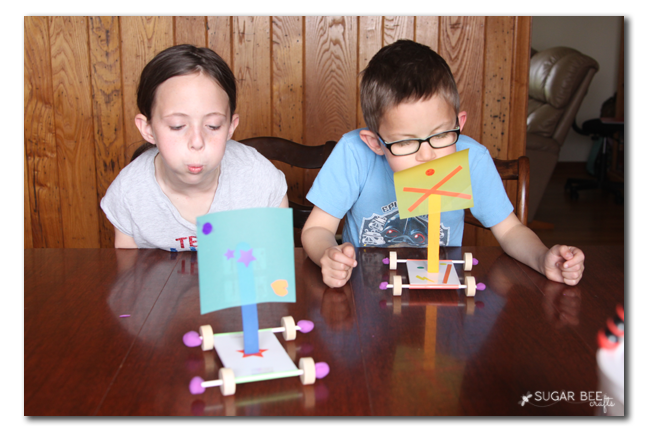 kid craft wind cars