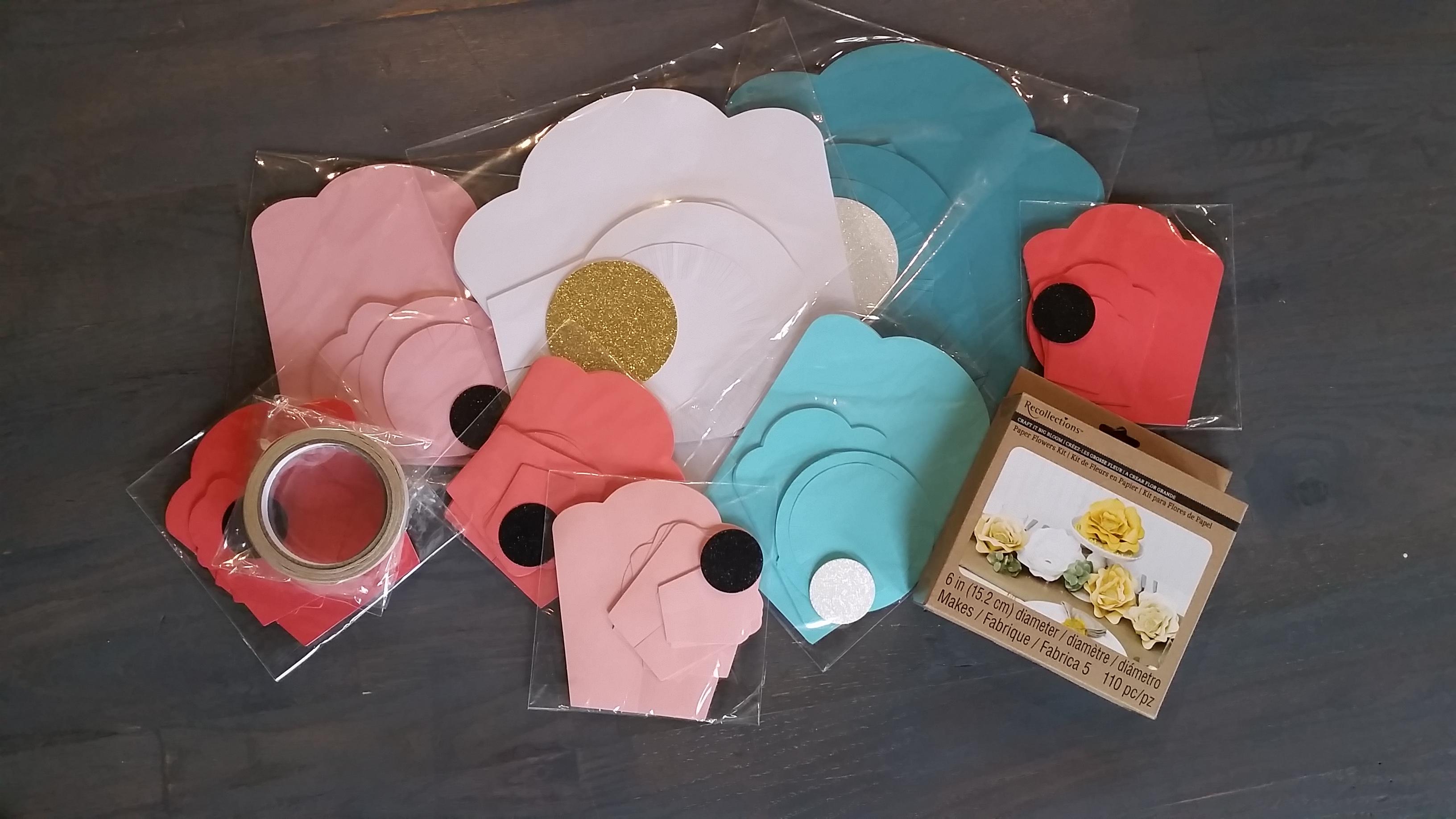 paper flower craft kit - Isken kaptanband co