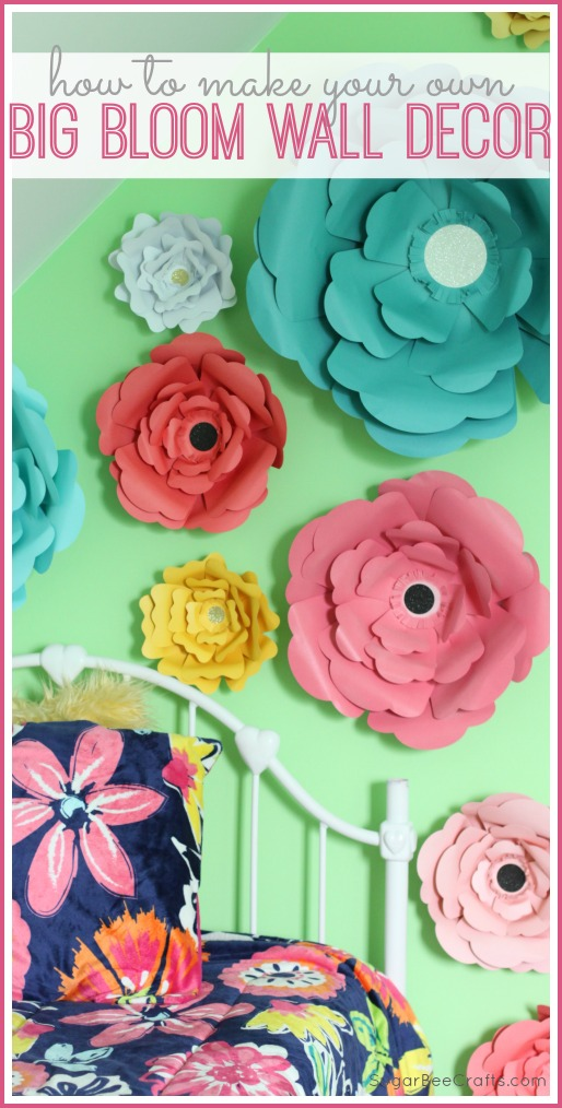 big bloom wall decor